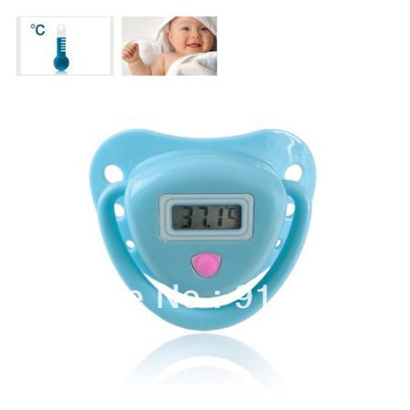 Free shipping Pacifier Style Digital Thermometer(China (Mainland))