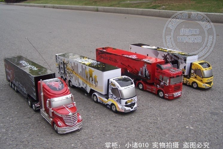 2013 Kids Large Size Rc Toy Rc Trucks With Trailers