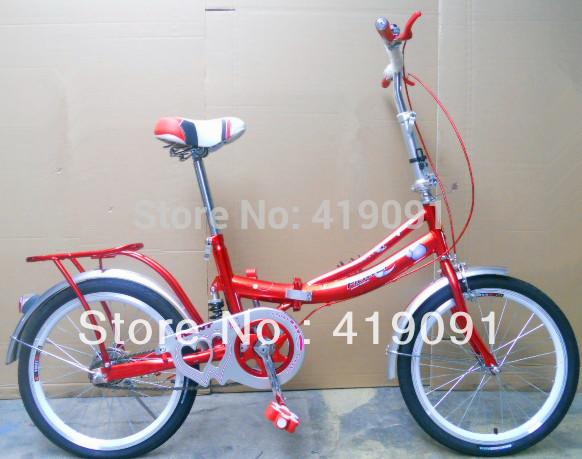 "Shanghai Phoenix Series , bicycle 16"" folding bike girl's women's , students special vehicle(China (Mainland))"