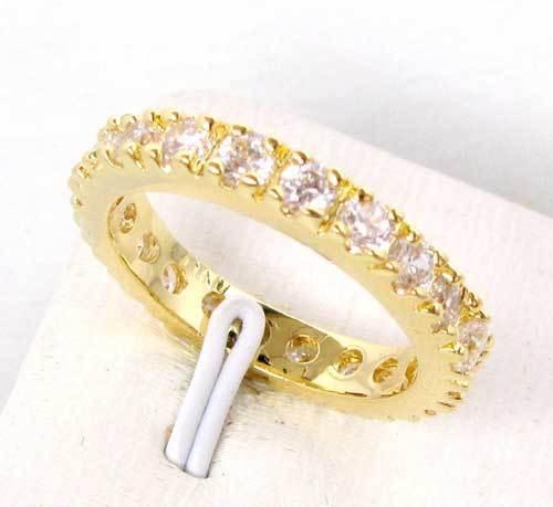 victoria wieck fancy gioielli della signora 10kt oro giallo riempito sapphire diamonique wedding ring size 8 regalo libero di trasporto(China (Mainland))
