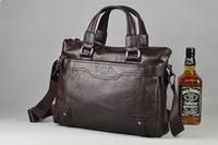 Free Shipping Fashion Design Laptop Bag mens handbag business casual shoulder Bag Messenger Bag Briefcase