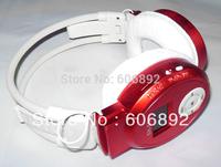 Free shipping Wireless Hifi Headset earphone Headphone sports MP3 music Player With SD Slot, headphones +LCD+FM