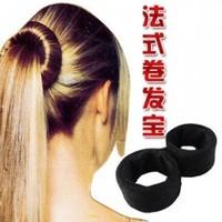Bun maker hair head bud meatball head hair french curly hair accessory accessories