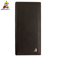 Male wallet male genuine leather cowhide long zipper design wallet long clip wallet casual