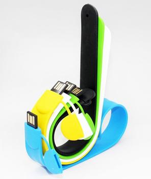 5pcs Real Capacity Silicone Bracelet Wristband USB flash dirve 1G 2G 4G 8G 16G 32G free shipping 1030