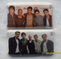 2pcs New The Wanted Team Hard Back Case Cover for iPod Touch 4th WT06