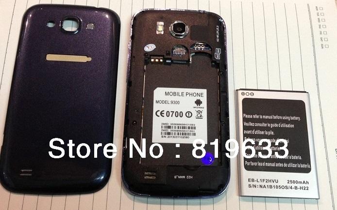 5pcs/lot Original Star W007(4G) 1600mhA Battery for 3.5 inch W007(4G )MTK6575 Free shipping(China (Mainland))