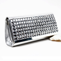 Free shipping 2013 women's bag noble and elegant messenger bag evening bag day clutch small messenger bag