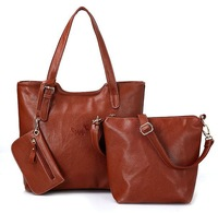 HOT 2013 fashion handbag selling vintage genuine leather women's handbag women's cowhide handbag one shoulder mother bag