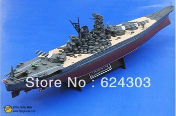 freeshipping!! the newest !!1:700 Fov 86004  world war ii yamato battleships  alloy model  military model
