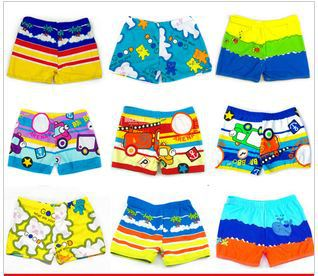 Free shipping 2013 Hot-selling cartoon children's male child baby boy's hot springs beach bathing swimming pants trunks shorts(China (Mainland))