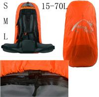 15-70 L Best Wear-Resistant Outdoor Backpack Waterproof Rain Cover Green Orange Free Shipping