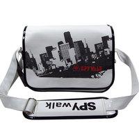 Spywalk casual shoulder bag messenger bag male middle school students school bag preppy style man bag