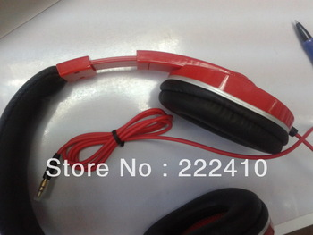 Factory direct sales very cheap stereo headphones MP3/MP4 headset with retail box 3.5mm plug free shipping