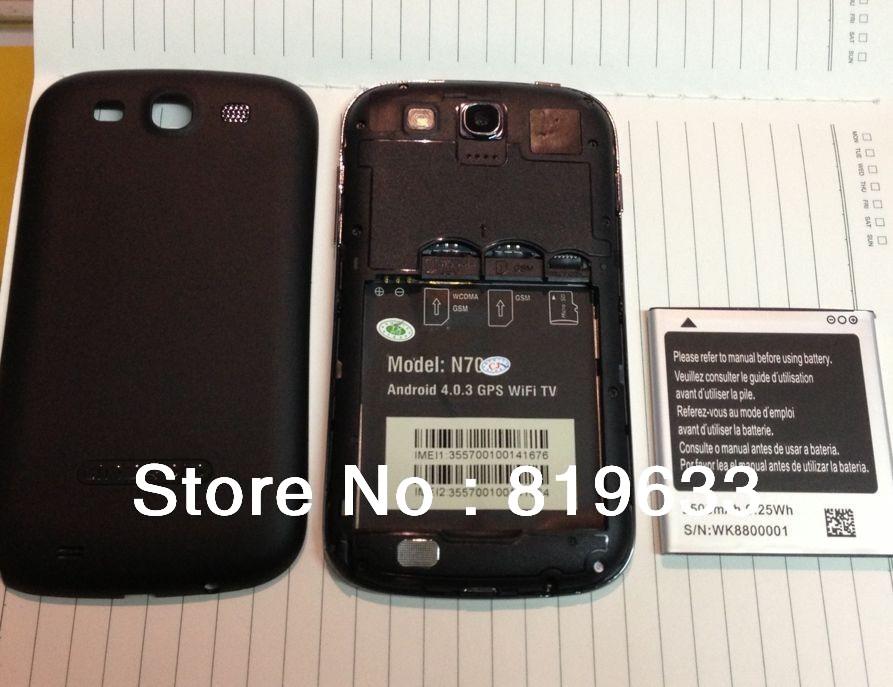 5pcs/lot Original Star N710 N7100 N7000 A9300 2500mhA Battery for 5.28 inch N710 N7100 N7000 A9300 Mtk6575 Mtk6573 Freeshipping(China (Mainland))