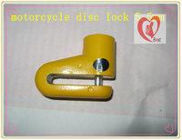 free shipping small dish lock motorcycle disc brake lock disc lock