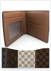 FREE SHIPPING 2013 NEW genuine Leather Men Wallets Short-Length Wallets Men's Purse Bag MQB20(China (Mainland))