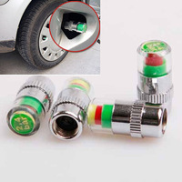New 1 Set(4pcs)Car Tyre Tire Pressure Monitor Indicator Valve Stem Cap Sensor 3 Color Eye  RUICH Free Shipping