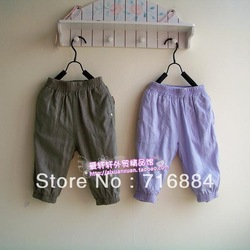 2013 original single spring and summer the girls cotton cambric fifth-seventh pantyhose radish bloomers(China (Mainland))
