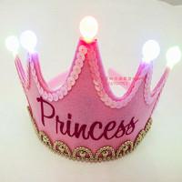 Birthday hat prince princess child hat birthday hair accessory kids birthday party