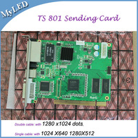Free Shipping!LINSN Full Color TS801 LED Display Sending Card Synchronous Control System Advertising Signs Controller