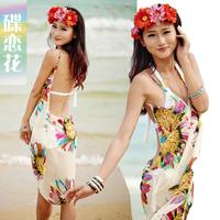 Free shipping 2013 new mantillas women magicaf sunscreen beach towel sexy dress beach skirt hot spring shirt