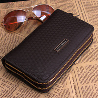 Free shipping 2013 male clutch genuine leather day clutch bag clutch male bag male