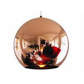 [Glisten Lighting]Free shipping Wholesale 20CM Copper Mirror Ball Pendant Lamp Modern Pendant Light design By TOM DIXON PL155(China (Mainland))