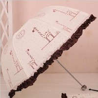 The princess cartoon animals arch umbrella.welcome to buy