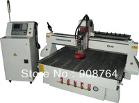EN303#  MD1530ATC  CNC Router with inline tool changer, CNC Engraving Machine  1300X2500X300 9Kw spindle water cooling