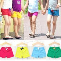 2013 summer brief candy boys clothing girls clothing baby child shorts kz-0868