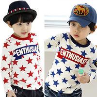 2014 spring boys clothing girls clothing baby long-sleeve T-shirt basic shirt tx-0529 K1874