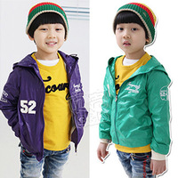 Free Shipping 2013 Spring Digital 52 Paragraph Of Boys Clothing Baby With A Hood Trench Outerwear wt-0675