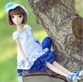 Free shipping Kurhn Doll 7 edition blue and white porcelain 1122 girl gift toy  wholesale(China (Mainland))