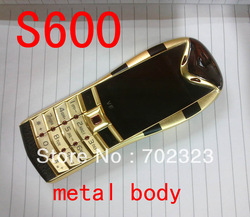 2013 New arrival luxury snake S600 metal phone dual SIM mobile phone(China (Mainland))