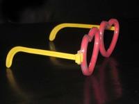 Toy heart glasses neon stick luminous stick led glasses