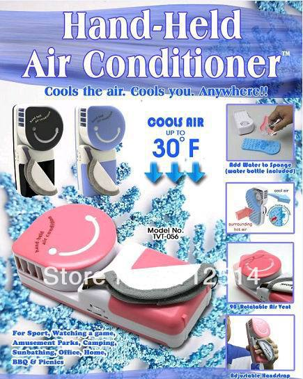Battery operated usb hand held air conditioner(China (Mainland))