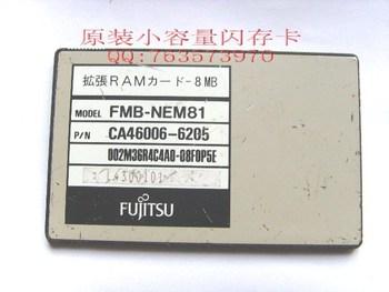 Fujitsu 8m ram fmb-nem81 8mb pc card dram card