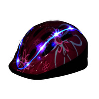 Free Shipping 2013 Moon child built-in lithium battery luminous helmet charge child scooter protective helmet bicycle helmet