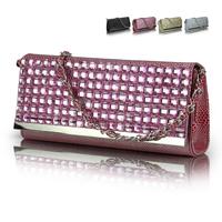 2014 women's diamond handbag evening bag party day clutch chain vintage small cross-body bags