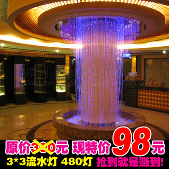 Led water lights waterfall light lantern flasher ice bar lamp curtain lights