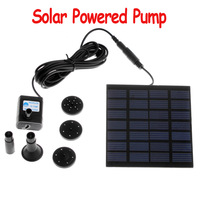 Freeshipping Pool Water Garden Plants Watering Kit Solar Power Fountain Soar Pump/Water Pump,dropshipping wholesale