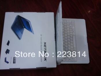supply 1 piece sample laptop VIA8850 10 inch 1.25GHZ 4GB Andriod 4.0 Wifi Laptop Notebook Webcam