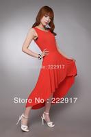 Free Shipping Front short Back long Wide Hem Extra long love elegant dovetail temperament mop skirt  chiffon dress