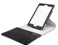 360 degree rotating bluetooth Keyboard case High quality PU for For Ipad mini free shipment