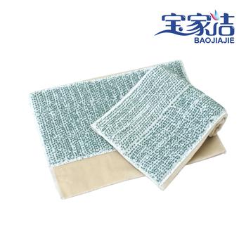 Big floor wipe microfiber flat mop mounted replace original cloth mop accessories
