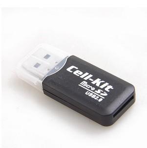 C015 cool card reader usb card reader transparent cover