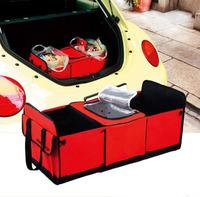 2013 car trunk multi-purpose finishing boxes incubator folding glove compartment storage box free shipping CR001