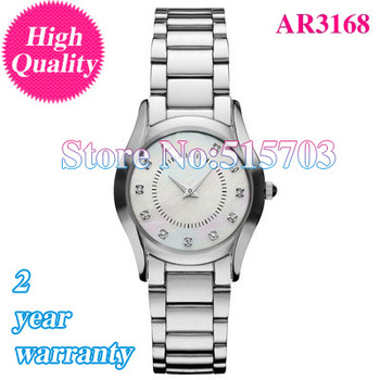 Free shipping-NEW  LADIES DIAMOND WATCH AR 3168 Women Wristwatch AR3168+ Original Box