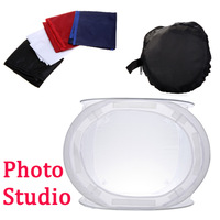 Photo Studio soft box Shooting Cube Tent Softbox  /50 x 50cm  photo light tent +portable bag+ 4 Backdrops free shipping